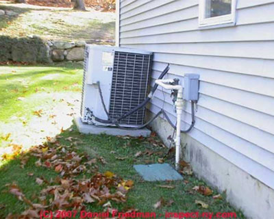Is your Air Conditioner leveled? Check outside and see…